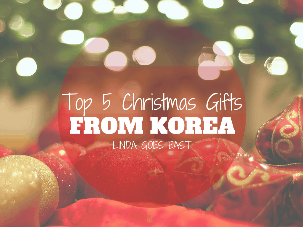 Christmas In Korea.Top 5 Christmas Gifts From Korea