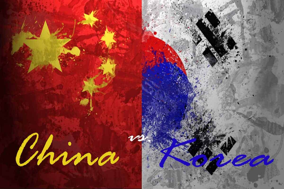 Differences Between China and Korea